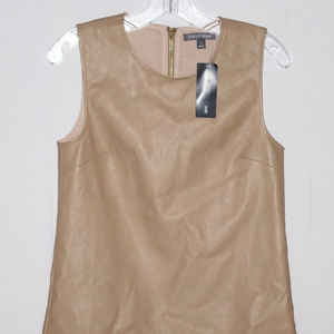 Tinley Road Faux Leather Top S